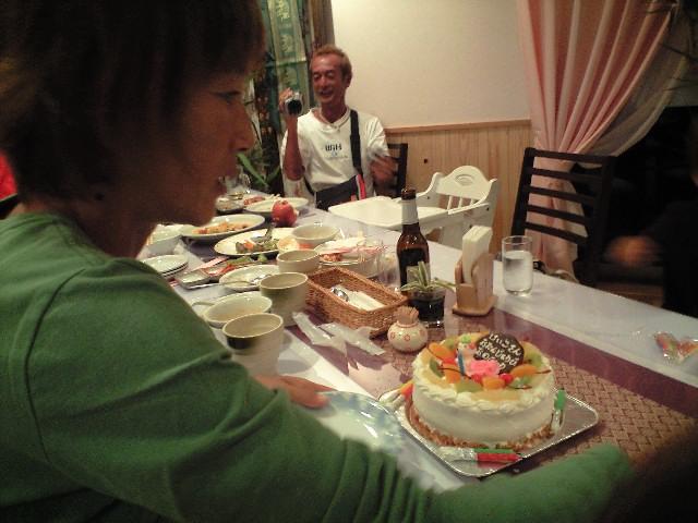 圭子さん誕生日