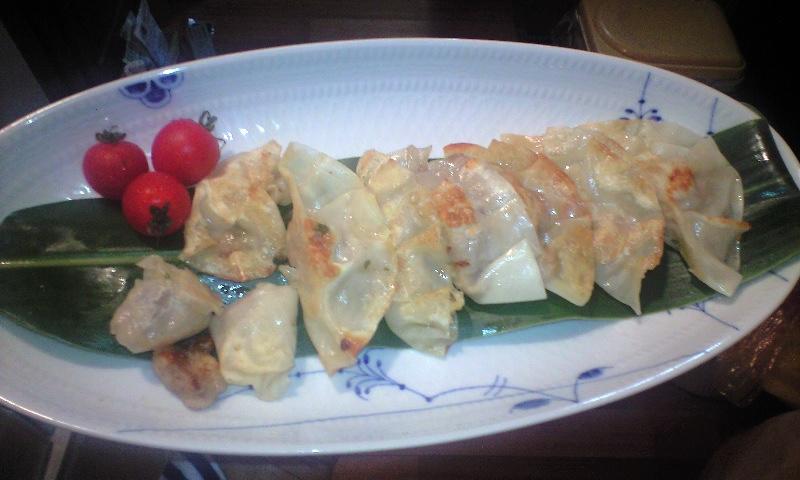 トビウオ餃子