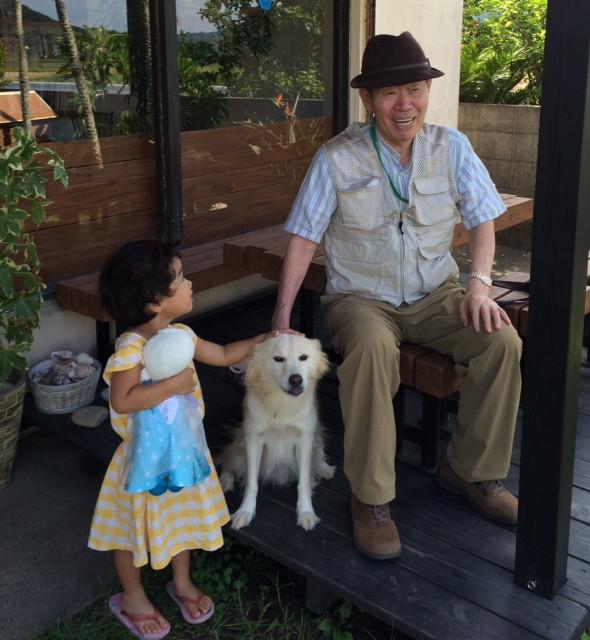おじいちゃんと孫とサニー