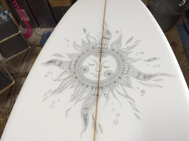 おひさまサーフボード